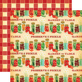 Carta Bella Country Kitchen Preserve and Pickle Patterned Paper