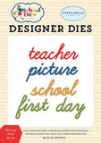 Carta Bella School Days First Day Word Designer Die Set