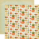 Carta Bella Fall Break Gourd Variety Patterned Paper