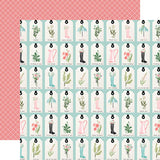 Carta Bella Flower Garden Love You Tags Patterned Paper