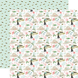 Carta Bella Flower Garden Garden Hats Patterned Paper