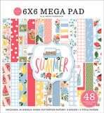 Carta Bella Summer 6X6 Cardmakers Mega Paper Pad