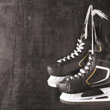 Reminisce Game Day - Hockey Skates Patterned Paper