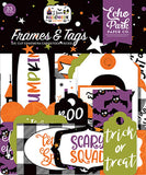 Echo Park I Love Halloween Frames & Tags Embellishments