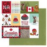 Photoplay Paper O Canada 2 Sorry Patterned Paper