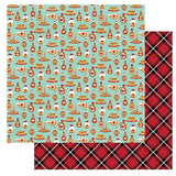 Photoplay Paper O Canada 2 Pure Maple Syrup Patterned Paper