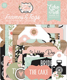 Echo Park Our Wedding Frames & Tags Embellishments
