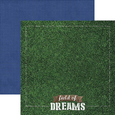 Paper House Productions All Star Field of Dreams Patterned Paper