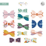 Pinkfresh Studio Days of Splendor Fabric Bow Embellishments