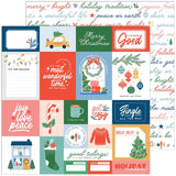 Pinkfresh Studio Oh What Fun Good tidings Patterned Paper