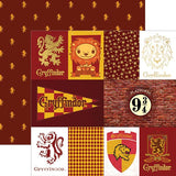Paper House Productions Harry Potter Gryffindor Patterned Paper
