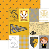 Paper House Productions Harry Potter Hufflepuff Patterned Paper