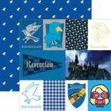 Paper House Productions Harry Potter Ravenclaw Patterned Paper