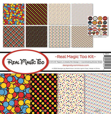 Reminisce Real Magic Too Collection Kit