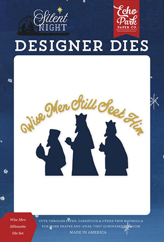Echo Park Silent Night Wise Men Silhouette Designer Die Set