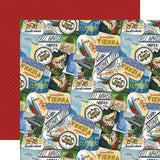 Echo Park Scenic Route Travel Stickers Patterned Paper