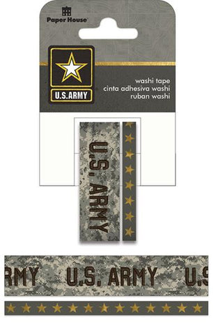 Paper House Productions Heroes US Army Washi Tape