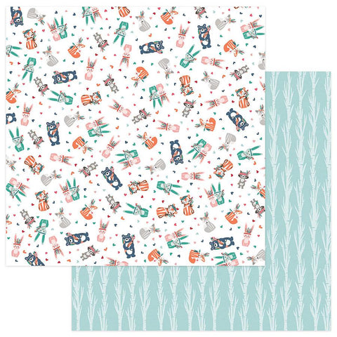 Photoplay Paper Wild Love Crazy For You Patterned Paper