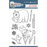 Photoplay Paper Winter Memories Clear Acrylic Stamp Set