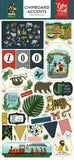 Echo Park Animal Safari 6x13 Chipboard Accent Embellishments