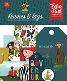 Echo Park Animal Safari Frames & Tags Embellishments