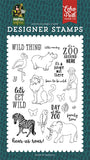 Echo Park Animal Safari Wild Thing Designer Stamp Set