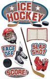 Paper House Productions All Star Ice Hockey Dimensional Sticker