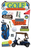 Paper House Productions All Star Golf Dimensional Sticker