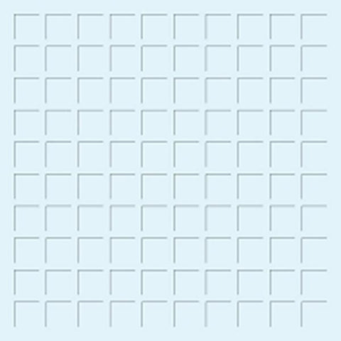 Snap n Crop Mosaic Moments 12x12 Grid Paper Cardstock - Pale Blue