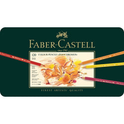 "Faber Castell Color Pencils ""Polychromos""  Tin of 120 - ucoomy"