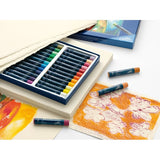 Oil pastel crayons STUDIO QUALITY box of 24 (#127024) - ucoomy