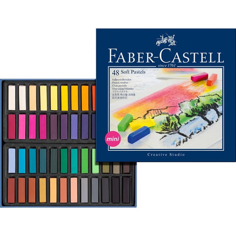 Soft pastel crayons STUDIO QUALITY mini box of 48 (#128248) - ucoomy