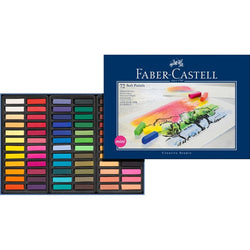 Soft pastel crayons STUDIO QUALITY mini box of 72 (#128272) - ucoomy