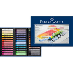 Soft pastels STUDIO QUALITY box of 36 (#128336) - ucoomy
