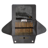 addi Click Nature Olive Wood Interchangeable Knitting System - ucoomy