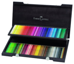 "Faber Castell Watercolor Pencils ""Albrecht Durer"" Set Of 120 In a Decorative Wooden Box - ucoomy"