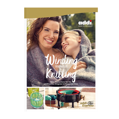 "Pattern Book ""Winding Instead of Knitting"" - ucoomy"