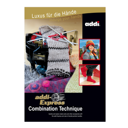 "Pattern Book ""addi-Express Combination Technique"""