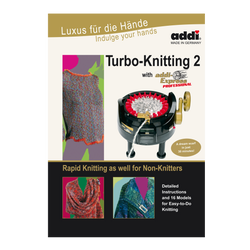 "Pattern Book ""Turbo-Knitting 2 with addi Express Professional"""