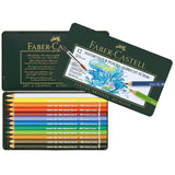 "Faber Castell Watercolor Pencils ""Albrecht Durer"" Tin Of 12 - ucoomy"