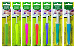 Clover Amour Crochet Hooks - Set of 7 - For Working with Thick Yarns - ucoomy