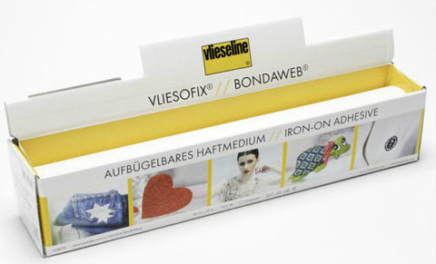VLIESOFIX® BONDAWEB® IRON-ON ADHESIVE ON PAPER CARRIER, 30m ROLL - ucoomy