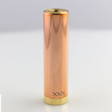 Bay City Vapor XXIX Copper/Brass 18650 Mod