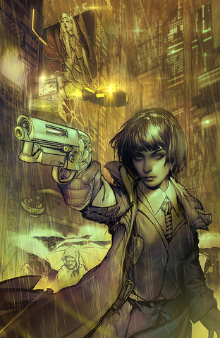 Blade Runner 2019 issue 1 variant cover signed