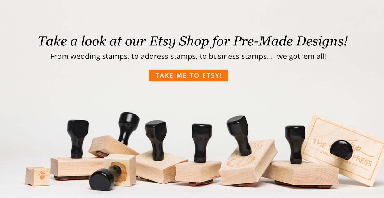 Wedding Stamps, Address Stamps, Business Stamps - The Stamp Press