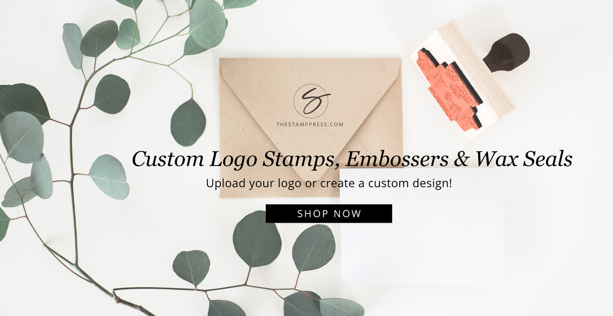 Custom Logo Stamps, Embossers, Wax Seals - The Stamp Press