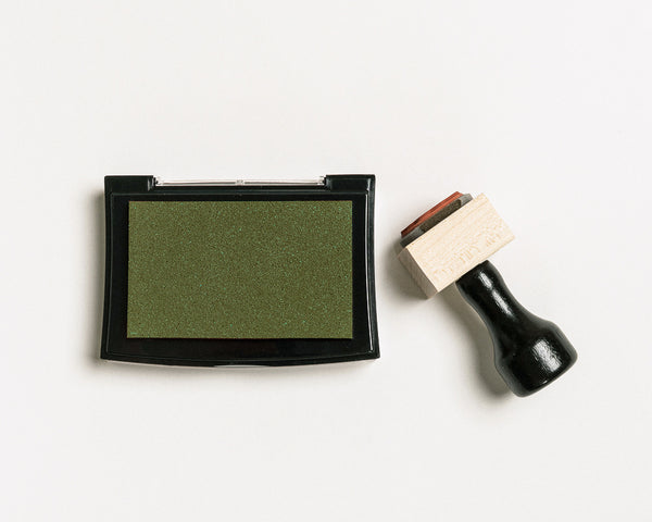 OLIVE GREEN INK PAD