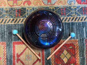 9 inch b minor 432 Hz Enlightenment Healing Drum