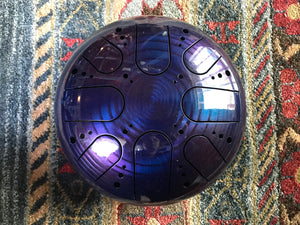 9 inch b minor 432 Hz Purple Haze Healing Drum