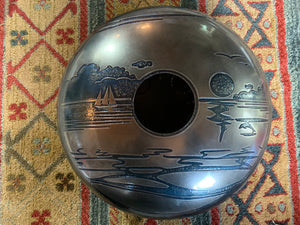 15 inch F# Major 432 Hz Dolphin Drum